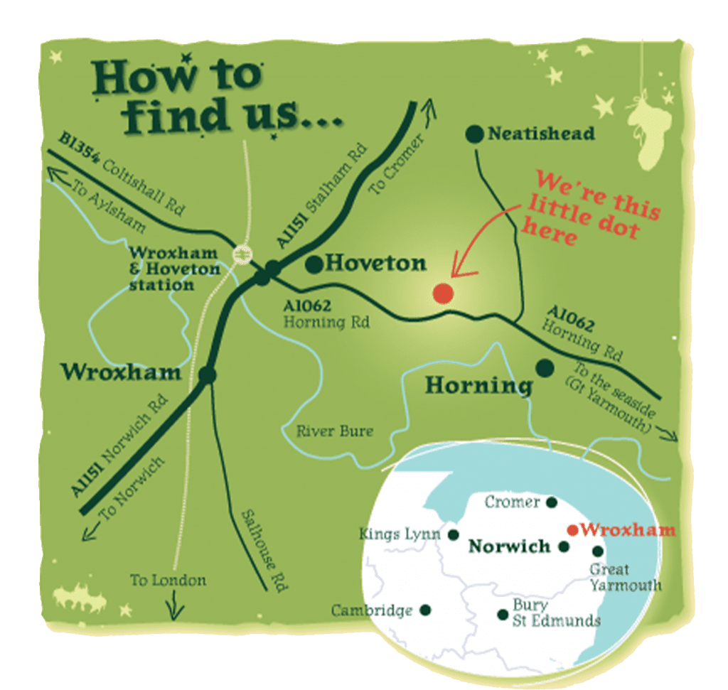 BeWILDerwood - How to find us