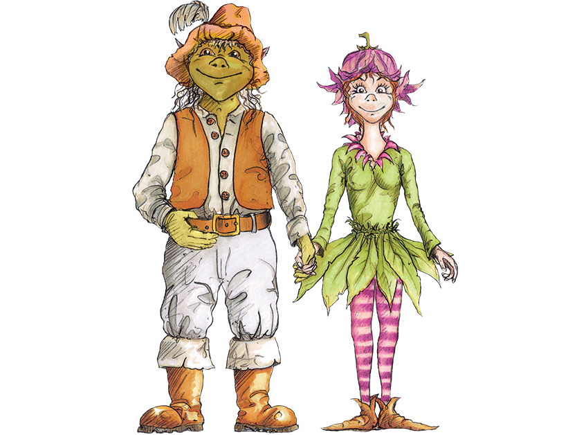 BeWILDerwood Characters